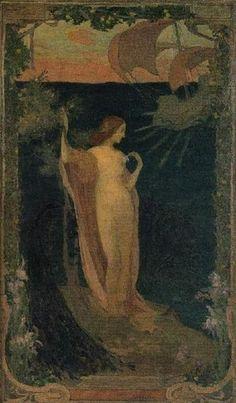 myaloysius:  Edmond-Francois Aman-Jean: Venecia - 1892