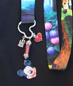Magical Mickey Mouse Style Lanyard Disney Inspired by chuckhljal, $35.00