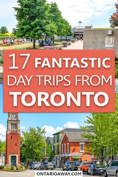 Looking for great day trip ideas from Toronto, Ontario, Canada? In this guide we share some of our top Toronto day trip tips as well as the different ways to get there! Ontario Travel, Toronto Travel, Wasaga Beach, Toronto Island, Canada Travel, Canada Tours, Travel Humor, Day Tours, Day Trip