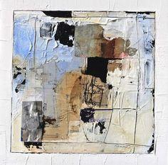 "Katherine Chang Liu,  Core of Calm #3  mixed media   15 x 15"""