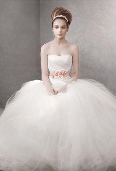 White by Vera Wang - VW351007 | Photos | Brides.com