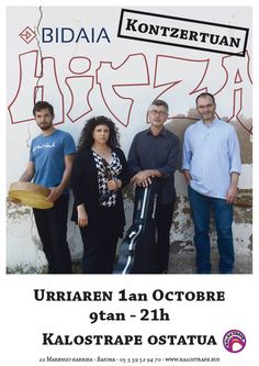 Hurbildu Bidaiaren diska berria ezagutzera! Venez découvrir le nouveau disque de Bidaia! ¡Presentación del nuevo disco de Bidaia!