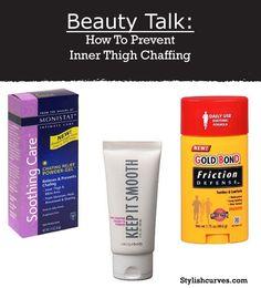 Beauty Tip I how to prevent inner thigh chaffing Beauty Care, Beauty Skin, Beauty Makeup, Beauty Hacks, Beauty Stuff, Beauty Secrets, Thigh Chaffing, Big Girl Problems, Chub Rub