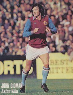 John Gidman Aston Villa 1978