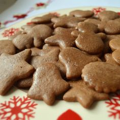 Candy Cookies, Gingerbread Cookies, Gingerbread Recipes, Truffles, Dog Food Recipes, Party Time, Food And Drink, Easter, Cooking