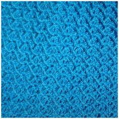 Criss-Cross Diamond Crochet Stitch by Rebeckah's Treasures