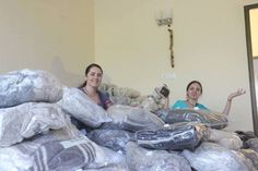 Devotees from Moscow, Russia, provide warm clothes to the residents of Vrindavan (Album with photos) Today is the first day of the distribution of warm things that we've collected in the fram…