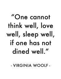 Afbeeldingsresultaat voor virginia woolf quote one cannot think well