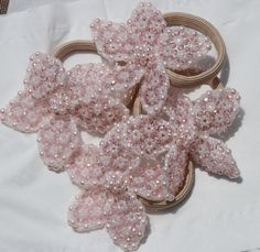 Handmade with love! Pink Flowers, Jewelery, Handmade, Shopping, Accessories, Jewelry, Hand Made, Jewels, Jewlery