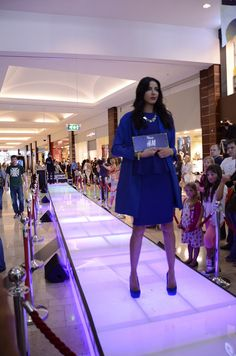 Dundrum Fall for Fashion - Coat story. Blue! - H+M