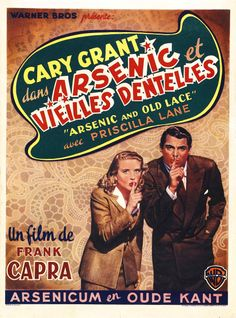 Arsenic and Old Lace (1944) (dir. Frank Capra) French poster