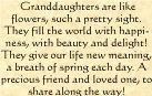 birthday quotes for granddaughters   ... Sayings, Verses and Quotes. Names and their meanings Poems and Poetry
