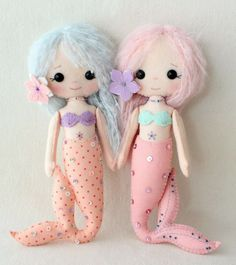 Gingermelon Dolls: Chibi Angels and Mermaids