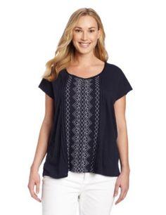 Lucky Brand Women's Plus Size Lillian Top
