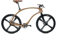 Germany's Waldmeister bikes is a fusion of wood with materials like carbon and titanium....