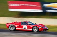 Ford During Qualifying For Group  Classic Gt At The  Classic Motorsports Mitty