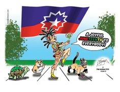 Emancipation Day, TX pictures | Cartoon by Tim Jackson - Juneteenth 2013