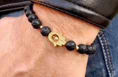 Check out this item in my Etsy shop https://www.etsy.com/uk/listing/231418189/golden-hamsa-hand-bracelet-mens-hamsa