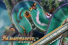 Slingshot Racing « FreeOnAppStore Slingshot Racing is an original racing game developed exclusively for iOS devices.
