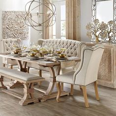 Lasting French Country Dining Room Ideas (57)