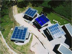Instalación solar en el Camping de Ons