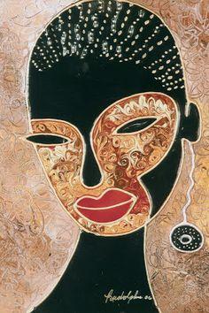 galleryrudolphus - Home #face #painting #lips #earing #artist #gallery