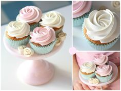 Passion 4 baking » Cupcake piping techniques using various Wilton tips