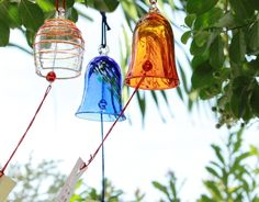 Wind Chime made by Ryukyu glass