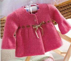 Vestidos de punto para niños: Fotos de los mejores diseños (Foto 13/40) | Ella Hoy