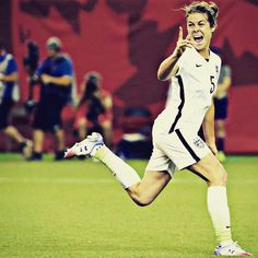 Is there a better time to score your first #USWNT goal? USA top Germany 2-0. #SheBelieves