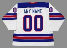USA 2010 Nike Olympic Hockey Jersey Customized