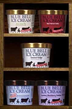 Blue Bell White Chocolate Almond Lemon Bliss Blueberry Cheesecake Red Velvet Cake Southern Peach Cobbler And Birthday Ice Cream