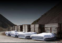 Camas continentales – Gama de camas y colchones artesanales Hästens de lujo fabricadas a mano