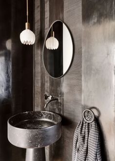 Marble Bathroom Accessories, Bath Accessories, Greek Revival Home, White Marble Bathrooms, Townhouse Designs, Melbourne House, West Village, Pink Marble, Old Houses