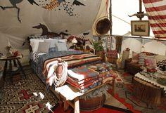 I'd stay in Ralph Lauren's teepee