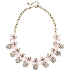 Forget-Me-Not Necklace - Pink Sea Salt
