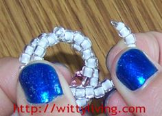memory wire crystal beaded ring project - though the texts and pictures are too small, it has a lot of fun crafts and ideas that you and your kids will enjoy! :)