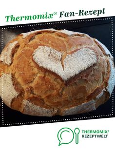 """Bauernbrot """"Hanno"""" Farmhouse bread """"Hanno"""" from Sille A Thermomix ® recipe from the Bread & Buns category www.de, the Thermomix ® community. Pampered Chef, Avocado Dessert, Bread Recipes, Crockpot Recipes, Slow Cooker Recipes, Avocado Toast, Bread Bun, Vegetarian Recipes Easy, Dessert Recipes"""