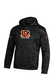 Under Armour Cincinnati Mens NFL Combine Authentic Performance Hood