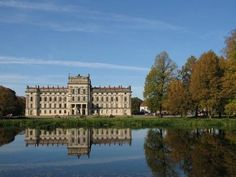 Located in Mecklenburg-Vorpommern, Schloss Ludwigslust was built in 1724 as a hunting lodge for Prince Christian Ludwig. The prince loved Ludwigslust so much, that it became his residence when he became duke. As the town grew, so did the need for a grander building, and in 1772, building began on a grander Ludwigslust Palace just behind the older hunting lodge.
