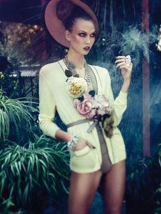 Karlie Kloss in Vogue Germany, December 2011   STYLE