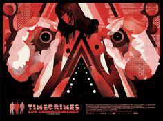 Timecrimes (Los Cronocrimenes) movie poster by We Buy Your Kids (http://wbyk.com.au/)