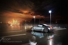 Nissan 370Z Roadster by binsane Transportation Photography #InfluentialLime
