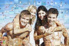 Mosaic Photo Collage created using Artensoft Photo Collage Maker (www.artensoft.com)