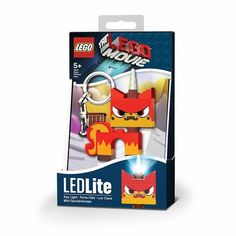 The LEGO Movie Angry Kitty Minifigure Flashlight