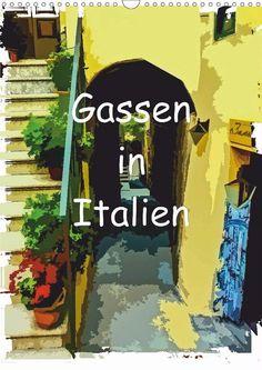 Gassen in Italien - CALVENDO