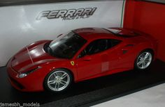 #Burago #ferrari 488 gtb 1:18 red,  View more on the LINK: 	http://www.zeppy.io/product/gb/2/152286104922/
