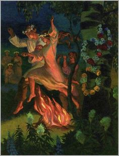 Noc Kupala - Slavic Summer Solstice Ceremony