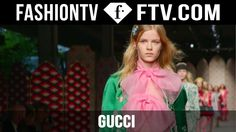 Gucci Spring 2016 Runway Show from Milan Fashion Week! | MFW | FTV.com