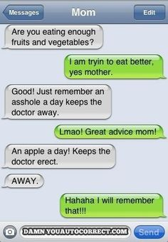 Eating healthy: | The 30 Most Unfortunate Autocorrect Fails Of All Time